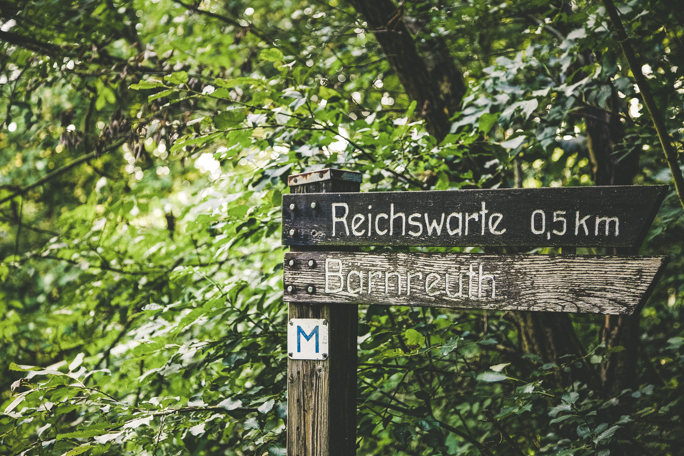 Wegweiser Bad Berneck
