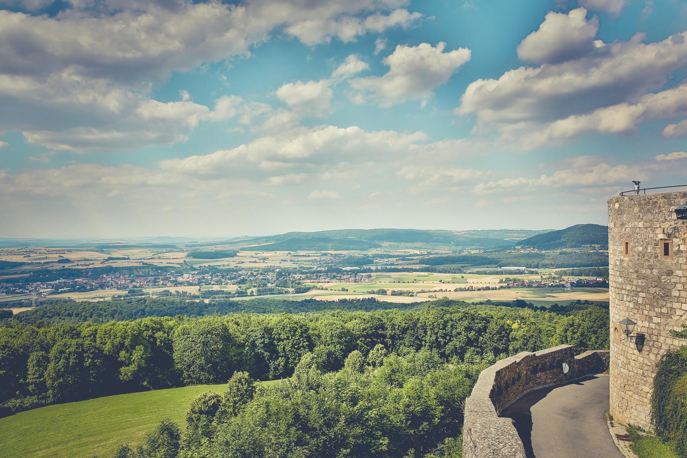 Giechburg Burg Giech Höhenburg in Scheßlitz bei Bamberg