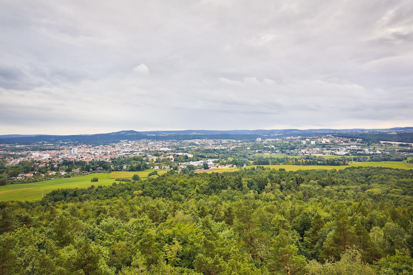 Bayreuth Hohe Warte Siegesturm