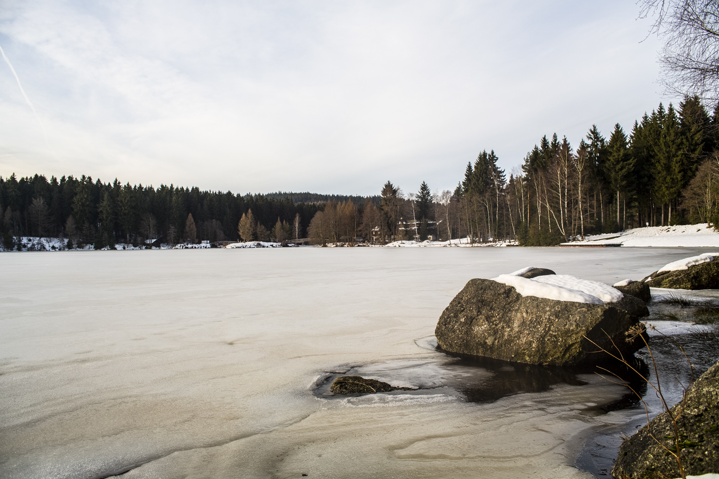 Fichtelsee im Winter